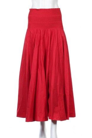 Φούστα TWINSET, Μέγεθος M, Χρώμα Κόκκινο, 97% βαμβάκι, 3% ελαστάνη, Τιμή 30,82€