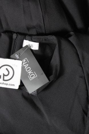 Рокля Naoko, Размер XS, Цвят Черен, 60% полиестер, 40% вискоза, Цена 46,50лв.