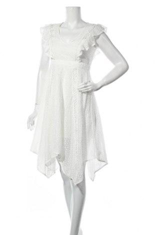 Φόρεμα Bardot, Μέγεθος M, Χρώμα Λευκό, 50% βαμβάκι, 50% πολυαμίδη, Τιμή 18,81€