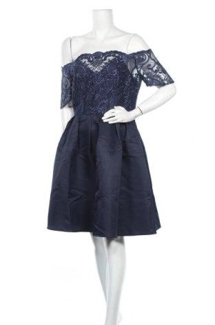 Φόρεμα Chi Chi, Μέγεθος L, Χρώμα Μπλέ, 100% πολυεστέρας, Τιμή 34,84€