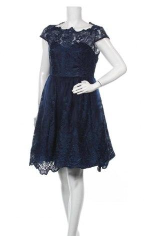 Φόρεμα Chi Chi, Μέγεθος XL, Χρώμα Μπλέ, Πολυαμίδη, Τιμή 39,20€