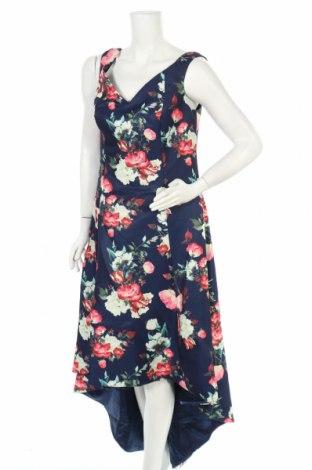 Φόρεμα Chi Chi, Μέγεθος XL, Χρώμα Μπλέ, Πολυεστέρας, Τιμή 41,52€