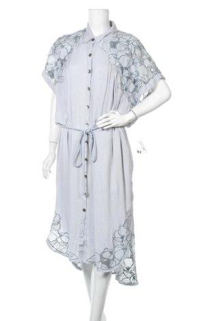 Φόρεμα Free People, Μέγεθος L, Χρώμα Μπλέ, Βισκόζη, Τιμή 28,75€