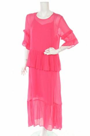 Φόρεμα Just Female, Μέγεθος S, Χρώμα Ρόζ , Βισκόζη, Τιμή 30,96€