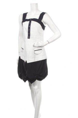 Рокля La Mode Est A Vous, Размер M, Цвят Бял, 62% памук, 36% полиестер, 2% еластан, Цена 51,35лв.