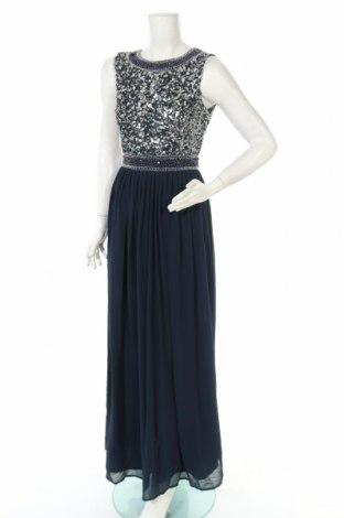Рокля Lace & Beads, Размер S, Цвят Син, Полиестер, Цена 45,77лв.