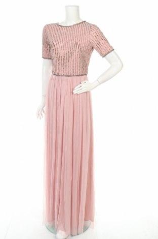 Šaty  Lace & Beads, Velikost S, Barva Růžová, 100% polyester, Cena  490,00Kč