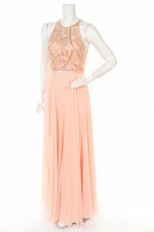 Рокля Luxuar Limited, Размер M, Цвят Оранжев, Полиестер, Цена 66,22лв.