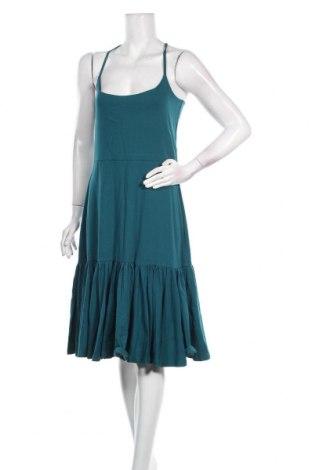 Φόρεμα M, Μέγεθος S, Χρώμα Μπλέ, 75% βαμβάκι, 25% πολυεστέρας, Τιμή 13,52€