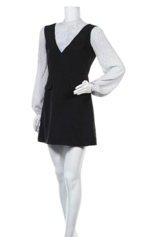 Рокля Miss Selfridge, Размер M, Цвят Черен, 90% полиестер, 10% еластан, Цена 45,36лв.