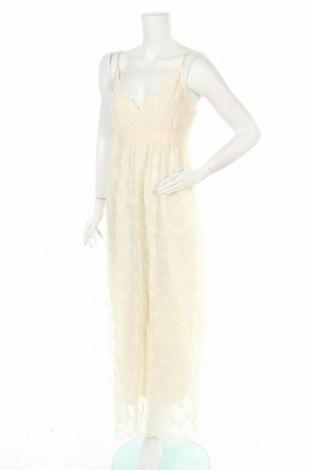 Φόρεμα Molly Bracken, Μέγεθος M, Χρώμα Εκρού, 63% πολυεστέρας, 37% βισκόζη, Τιμή 30,41€
