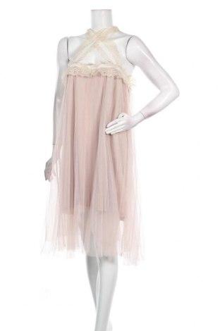 Φόρεμα Molly Bracken, Μέγεθος L, Χρώμα  Μπέζ, Πολυεστέρας, Τιμή 17,79€