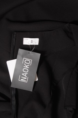 Рокля Naoko, Размер S, Цвят Черен, 60% полиестер, 40% вискоза, Цена 44,25лв.