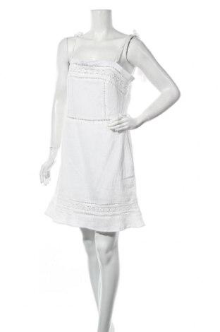 Рокля Neon Rose, Размер L, Цвят Бял, Памук, Цена 26,55лв.
