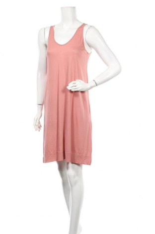 Рокля Oysho, Размер S, Цвят Розов, 67% лиосел, 33% памук, Цена 15,50лв.