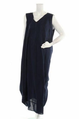 Φόρεμα Persona by Marina Rinaldi, Μέγεθος XXL, Χρώμα Μπλέ, Βαμβάκι, Τιμή 58,46€