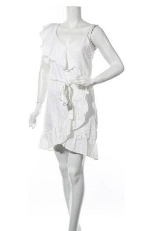 Φόρεμα River Island, Μέγεθος S, Χρώμα Εκρού, 55% λινό, 45% βισκόζη, Τιμή 8,42€
