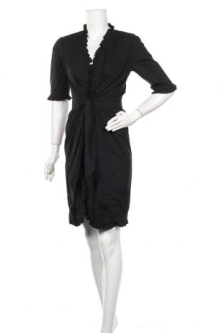 Φόρεμα Seventy, Μέγεθος L, Χρώμα Μαύρο, 72% βαμβάκι, 24% πολυαμίδη, 4% ελαστάνη, Τιμή 30,20€
