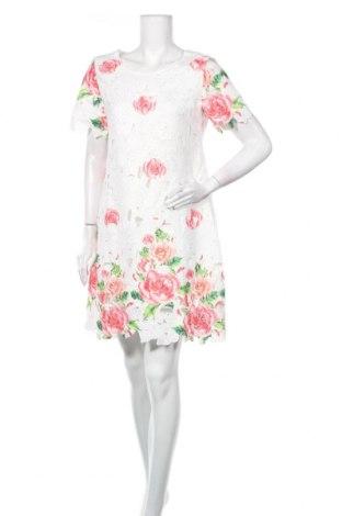 Φόρεμα Yumi, Μέγεθος M, Χρώμα Λευκό, Πολυεστέρας, Τιμή 32,58€