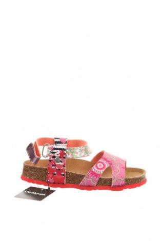 Σανδάλια Desigual, Μέγεθος 30, Χρώμα Ρόζ , Δερματίνη, Τιμή 29,82€