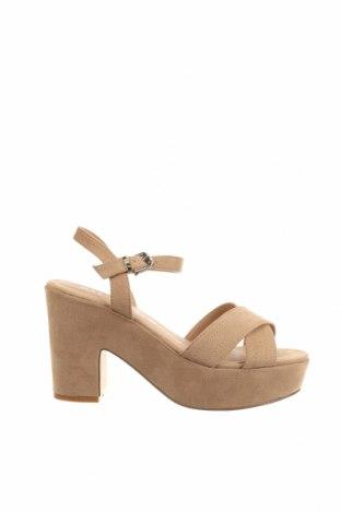 Sandale Marypaz, Mărime 40, Culoare Maro, Textil, Preț 137,50 Lei