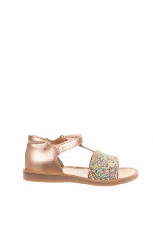 Детски сандали Pom D`api, Размер 26, Цвят Розов, Естествена кожа, Цена 63,20лв.