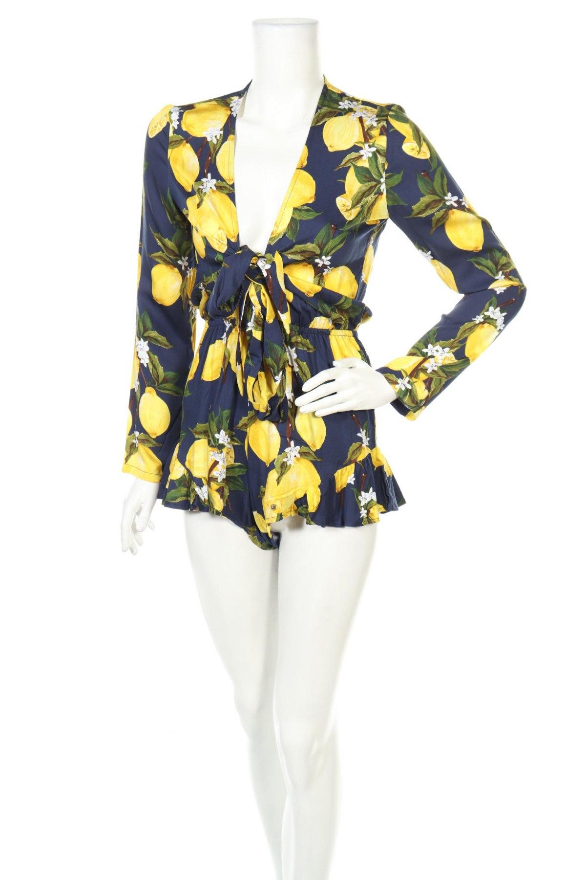 Γυναικεία σαλοπέτα Glamorous, Μέγεθος XS, Χρώμα Μπλέ, 100% βισκόζη, Τιμή 16,94€