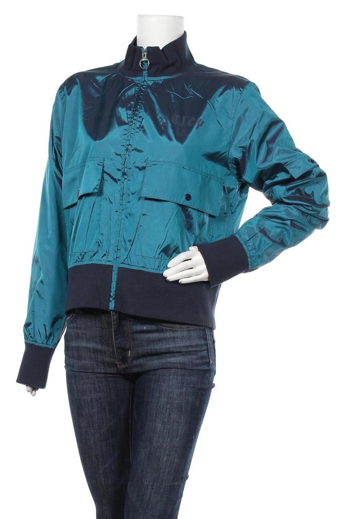 Дамско яке Juicy Couture, Размер L, Цвят Зелен, Полиестер, Цена 22,90лв.