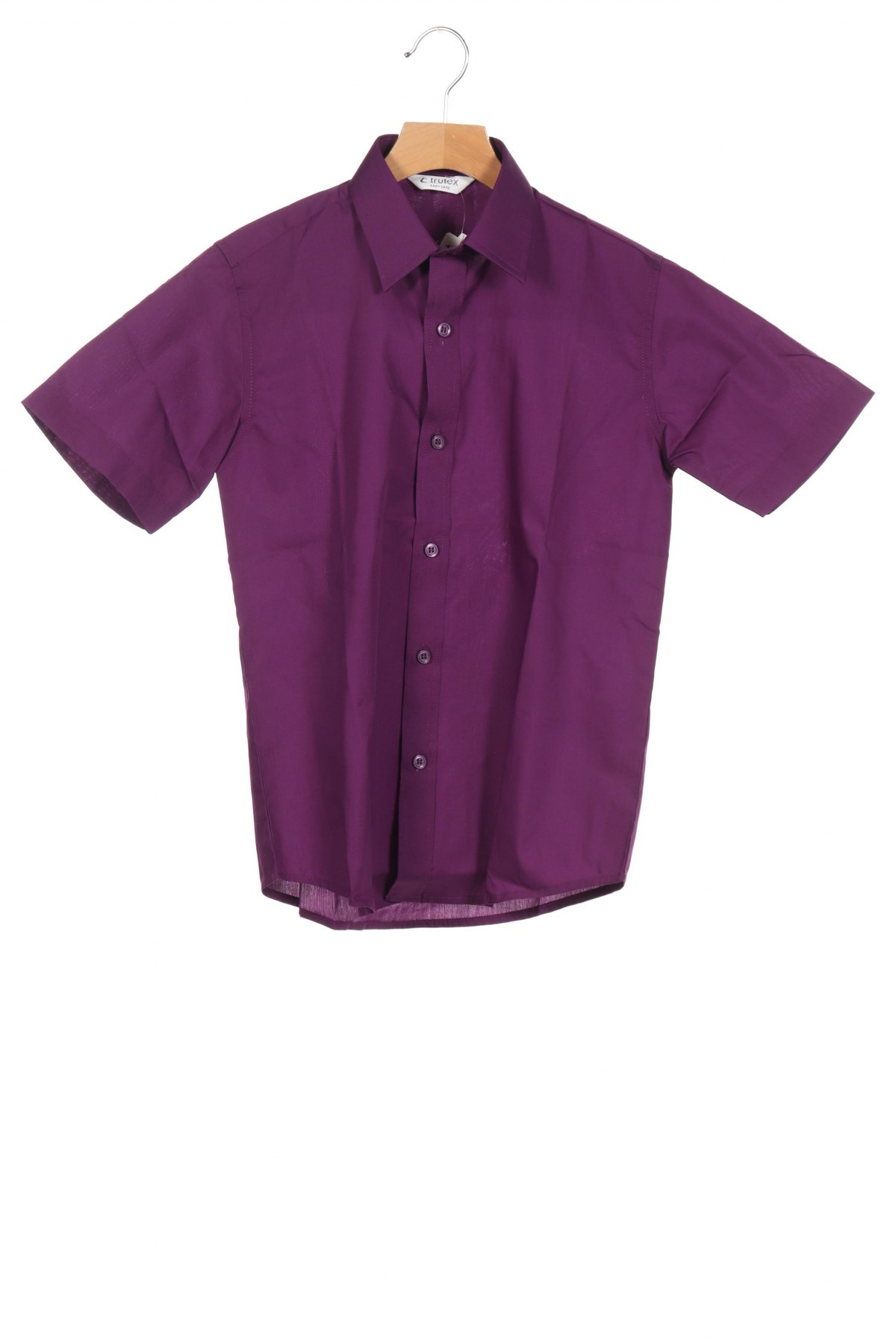 Детска риза Trutex, Размер 11-12y/ 152-158 см, Цвят Лилав, 65% полиестер, 35% памук, Цена 19,50лв.