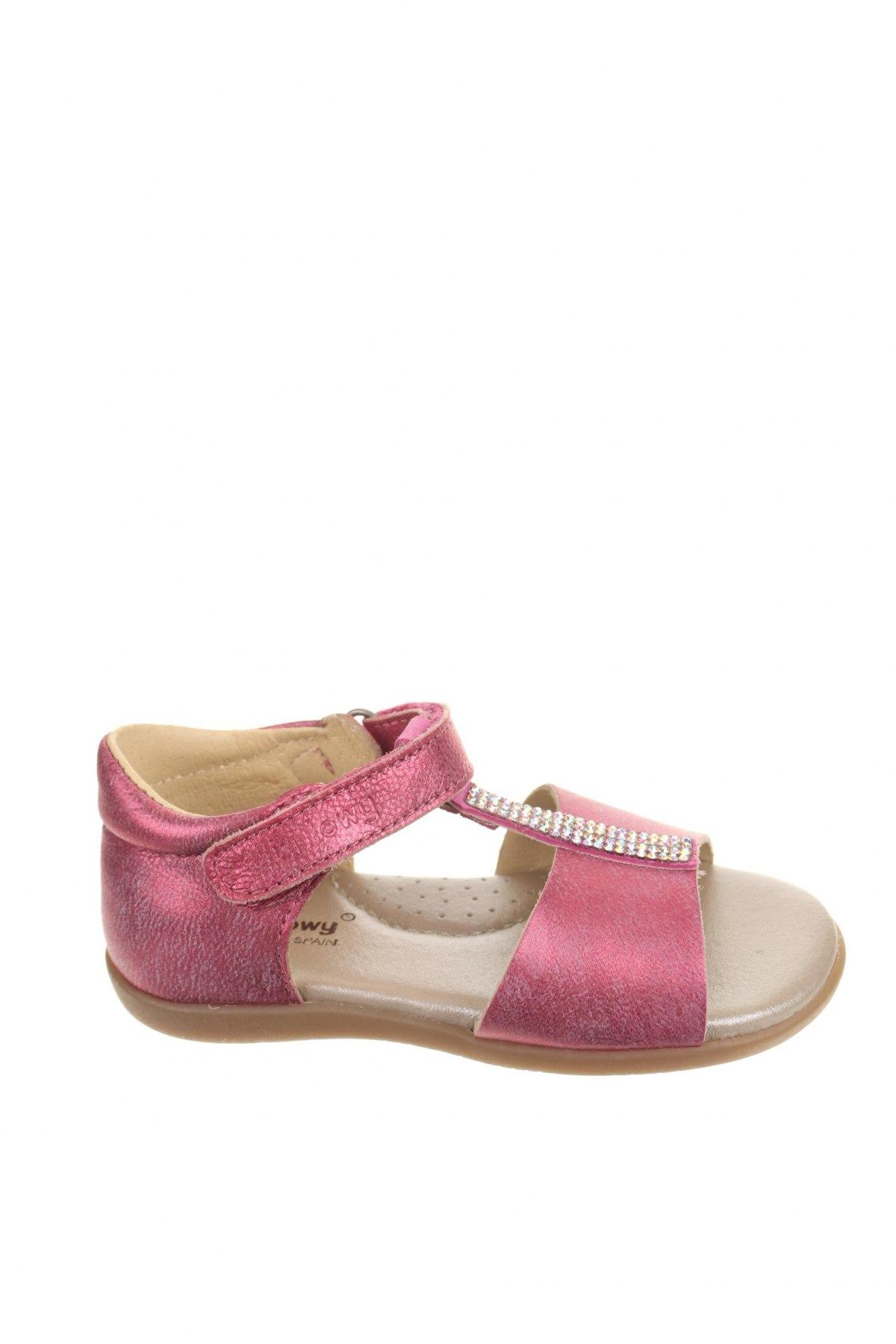 Παιδικά σανδάλια Billowy, Μέγεθος 23, Χρώμα Ρόζ , Γνήσιο δέρμα, Τιμή 27,74€