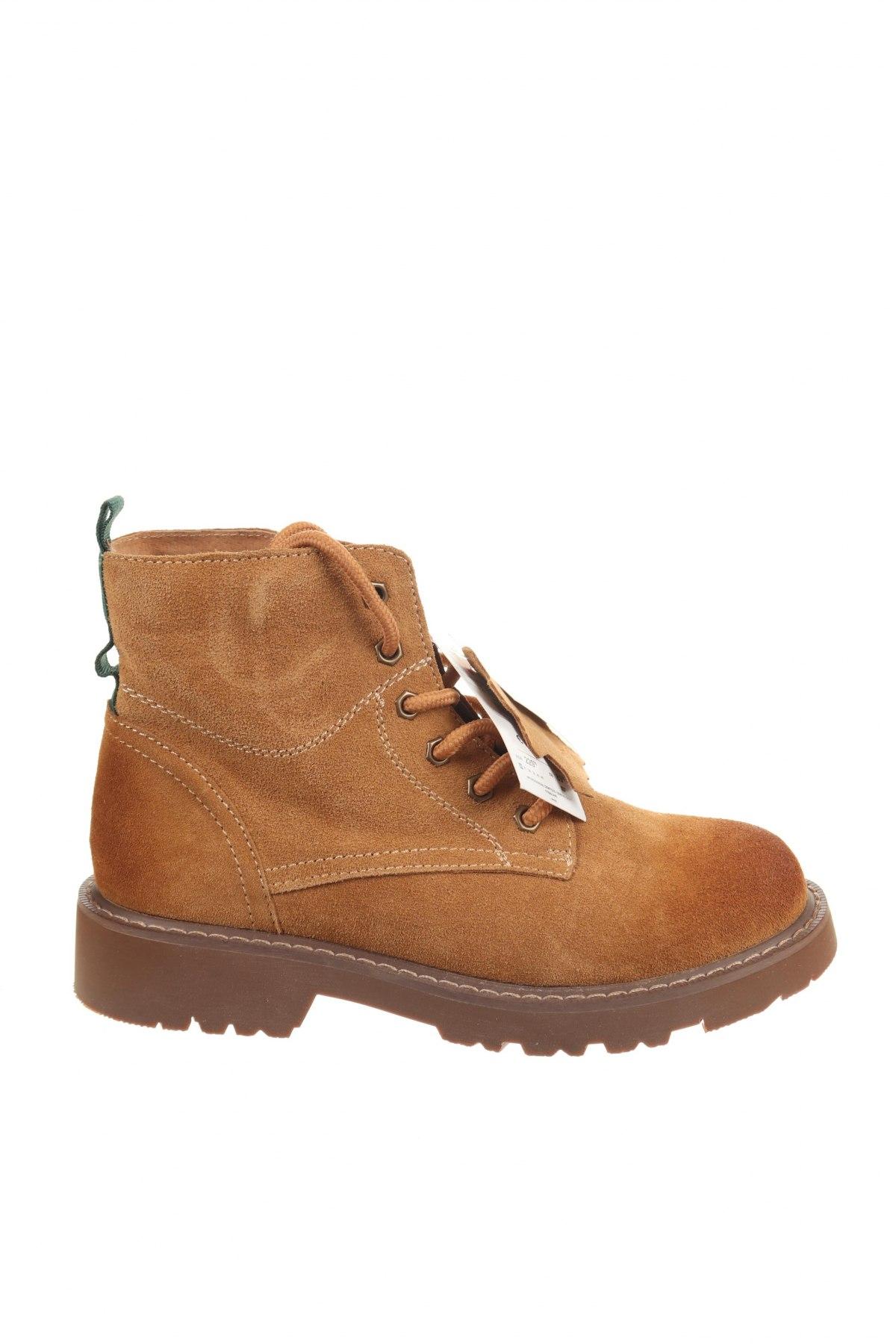 Παπούτσια Cropp, Μέγεθος 36, Χρώμα Καφέ, Φυσικό σουέτ, Τιμή 22,40€