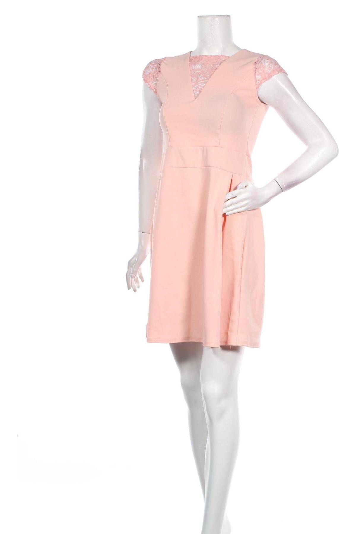 Φόρεμα, Μέγεθος S, Χρώμα Ρόζ , Πολυεστέρας, Τιμή 16,24€