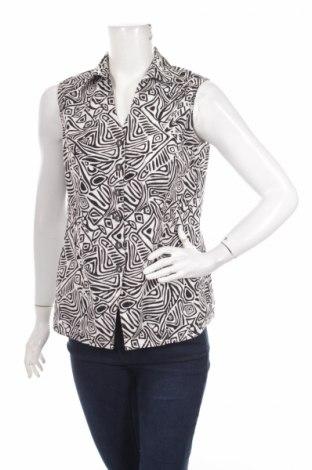 Γυναικείο πουκάμισο Canda, Μέγεθος L, Χρώμα Λευκό, Λινό, βισκόζη, Τιμή 9,79€