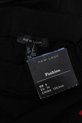 Дамски клин New Look, Размер XS, Цвят Черен, 97% памук, 3% еластан, Цена 23,40лв.