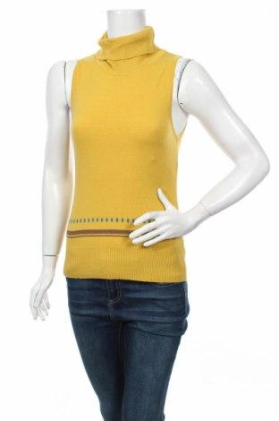 Дамски пуловер Avalanche, Размер S, Цвят Жълт, 65% вискоза, 25% вълна, 20% полиамид, Цена 31,00лв.