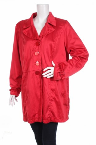 Дамско палто Zj Denim Identity, Размер M, Цвят Червен, 50% памук, 50% полиестер, Цена 13,75лв.