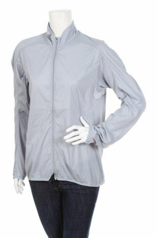 Дамско спортно горнище Adidas, Размер XL, Цвят Сив, 100% полиестер, Цена 63,70лв.