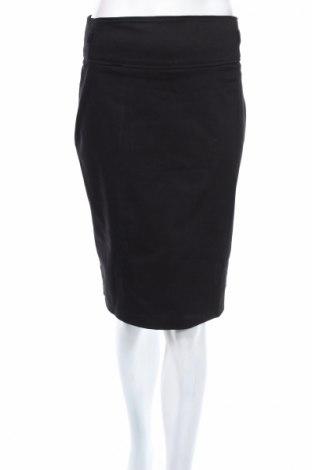 Пола Camaieu, Размер M, Цвят Черен, 97% памук, 3% еластан, Цена 7,48лв.