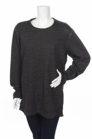 Дамска блуза Ltb, Размер XL, Цвят Сив, 60% памук, 40% полиестер, Цена 11,96лв.