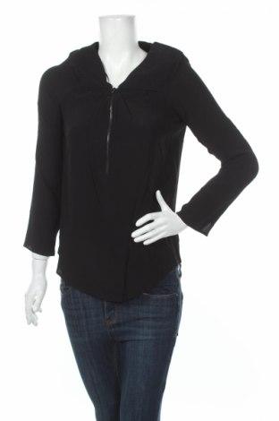 Bluză de femei Naf Naf, Mărime M, Culoare Negru, Viscoză, Preț 39,19 Lei