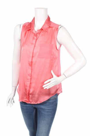 Γυναικείο πουκάμισο H&M, Μέγεθος L, Χρώμα Ρόζ , Πολυεστέρας, Τιμή 5,31€