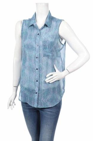 Γυναικείο πουκάμισο Liz Claiborne, Μέγεθος M, Χρώμα Μπλέ, Πολυεστέρας, Τιμή 3,74€
