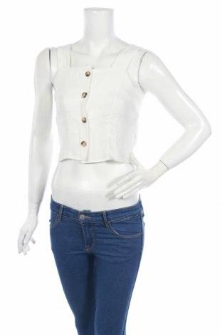 Дамска риза New Look, Размер S, Цвят Бял, Полиестер, Цена 20,88лв.