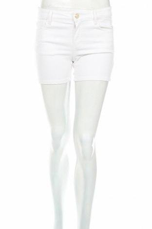 Pantaloni scurți de femei Massimo Dutti, Mărime S, Culoare Alb, 97% bumbac, 3% elastan, Preț 146,30 Lei