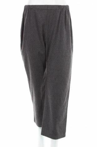 Dámské kalhoty  Marina Rinaldi, Rozměr XL, Barva Šedá, 68% vlna, 30% polyamide, 2% elastan, Cena  1106,00Kč
