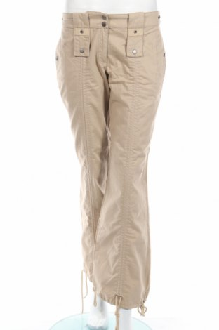 Дамски панталон S.Oliver, Размер M, Цвят Бежов, Памук, Цена 8,07лв.