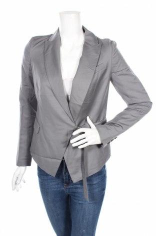 Дамско сако Adidas Slvr, Размер S, Цвят Сив, Вълна, Цена 67,80лв.