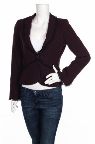 Γυναικείο σακάκι Aura, Μέγεθος XS, Χρώμα Βιολετί, 54% πολυεστέρας, 44% μαλλί, 2% ελαστάνη, Τιμή 3,46€