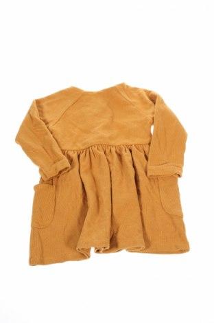 Детска рокля Zara, Размер 2-3y/ 98-104 см, Цвят Оранжев, Цена 23,04лв.