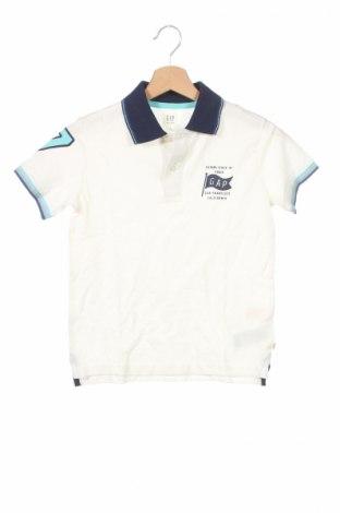 Детска тениска Gap Kids, Размер 7-8y/ 128-134 см, Цвят Бял, Памук, Цена 14,00лв.